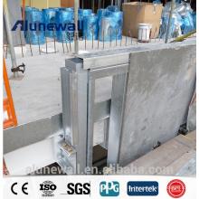 Alunewall 2meter largeur en acier inoxydable extérieur panneau composite en aluminium PE / PVDF ACP