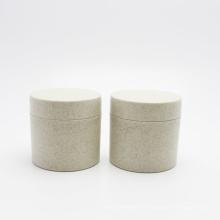 biodegradable Eco friendly wheat straw 100g jar cosmetic cream jars PLA-146AN