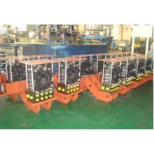 Sistema hidráulico mecânico de borracha
