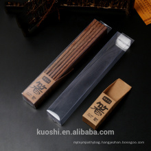 Customized plastic hanging packaging pvc box for chopsticks