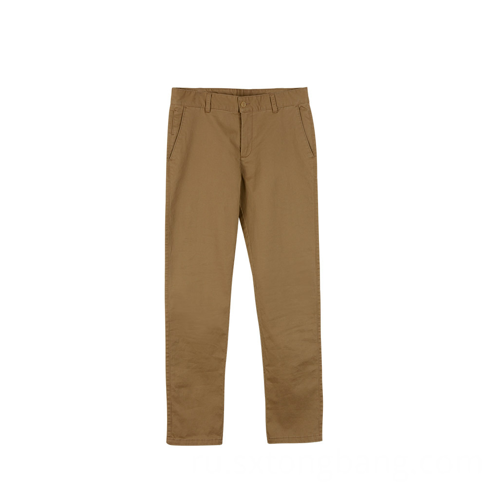 Casual Cotton Twill Cargo Pants