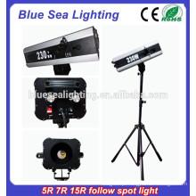 Operação de mão de casamento 5R 7R 15R siga spot lighting