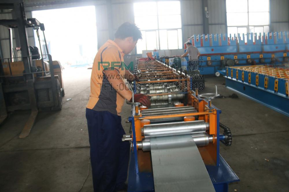 CZ Purlin Roof Panel Roll Forming Machine