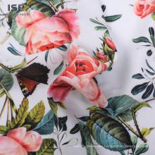 Rayon Printed Satin Rayon Challis Fabric For Garment
