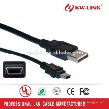 Список UL Bare Copper Mini 5Pin USB зарядное устройство 1M