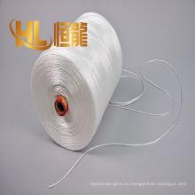 La fábrica de China produce cuerda del embalaje de los pp / filamentos trenzados de los pp 3 cuerda /