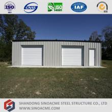 Garaje prefabricado de estructura de acero ligero