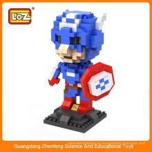 LOZ просвещает кирпичные игрушки, пластиковый кубический строительный блок 3d