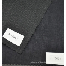 High fashion herring bone worsted wool polyester blended suiting fabric