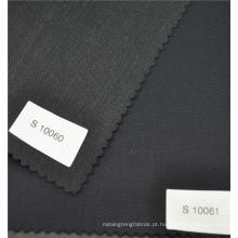 Alta costura de lã de arenito osso poliéster lã misturado adequando tecido