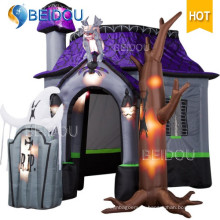 Inflables Decoraciones de Víspera de Todos los Santos Halloween Haunted House Inflable