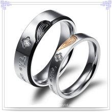 Anillo de los pares de la manera de la joyería del acero inoxidable (SR548)