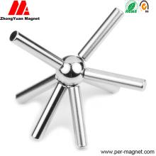 N40sh N42sh N45sh N48sh постоянный цилиндр NdFeB неодимовый магнит