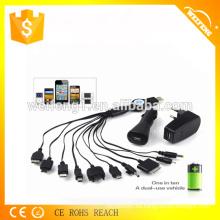 Cargador promocional del USB de la alta calidad para el hogar y el coche WF-115