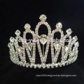 wholesale hair accessories beauty crystal princess crown headband