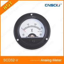 Scd52-V Medidor analógico montado en ronda