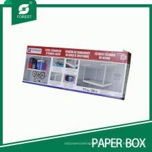 Большой размер напечатанная Коробка бумаги Упаковывая для накладных Стеллаж для хранения