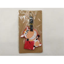 Cute Silicone Luggage Tag PVC Luggage Tag