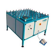 Glass Turning Table For Sealing Extruder Machine