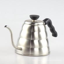 Kaffee Wasserkocher und Edelstahl Kochfeld Teekanne