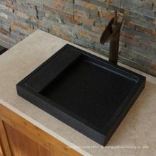 Évier de granit noir indien