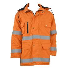Veste de travail réfléchissante orange