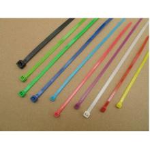 Mehrfarbige selbstsichernde Nylon66-Kabelbinder