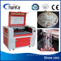 CO2 Laser Engrave and Cutting Machine for Cutting Farbic PVC