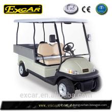 Novo carrinho de golfe carrinho de golfe barato com cama de carga