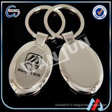 Porte-clés en acier inox