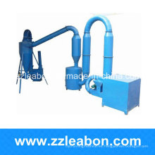 Secadora / secadora de aserrín de madera con flujo de aire