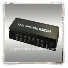 Высокое качество HDMI Splitter 1x16 HDMI Splitter 1 в 16 из