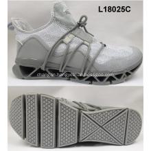 High quality fabric running men sport shoes