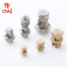 T/J brass&copper Split Bolt Connector/Tap connector