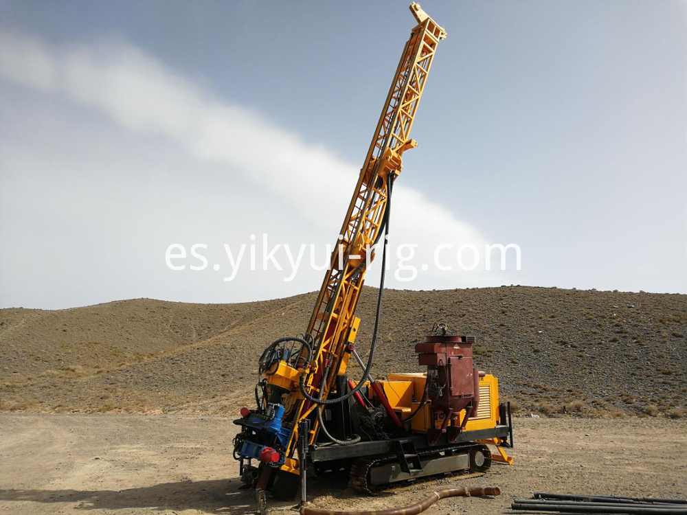 Reverse Circulation Rotary Drilling Rig 4