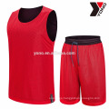 2017 high quality best price basketball jersey plain basketball uniform youth school uniform kits