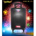 Micrófono inalámbrico Bluetooth de 8 pulgadas Activo Portátil Socket Trolley Batería Altavoz F51