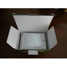 Eco-friendly de buena calidad impermeable IP65 luz de pared solar con sensor de movimiento
