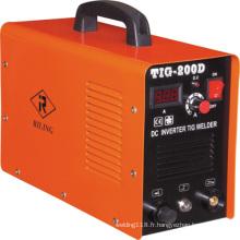 Nouvelle machine de soudage à l'arc Argon TIG Inverter Mosefet (TIG-160D / 200D)