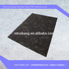 removing bacteria material activated carbon mat