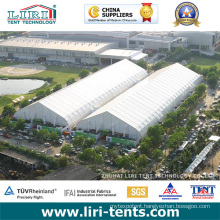 Large Outdoor Curve Roof Aluminum Frame PVC Cover Event Tents for Tradeshow and Exhibition
