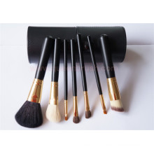Goat Hair 7PCS Cosmetic Makeup Brush Kits with Case