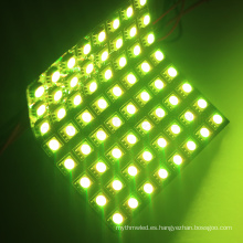 direccionable multicolor rgb dot led matrix apa102 p10 panel