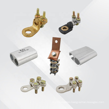 High quality electrical cable clamp aluminun connector press type H bolted brass cable connector