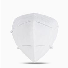 Máscara respiratória N90 Máscara facial KN90 Barreira de alta filtragem contra poeira Máscara respiratória respirável com forro macio e ganchos