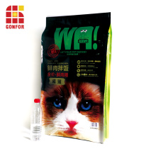 Large 10kg dog cat food bags resealable stand up pouch