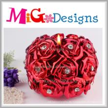 Moderner Design-Blumen-geformter Tee Llight Wedding Favor-Kerzenhalter
