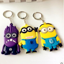 2016 Hot Selling Custom Silicon Plastic Keychain From Supplier