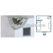 Quarter Dome Convex Polycarbonate Mirror