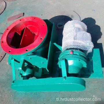 Electric ash discharge valve